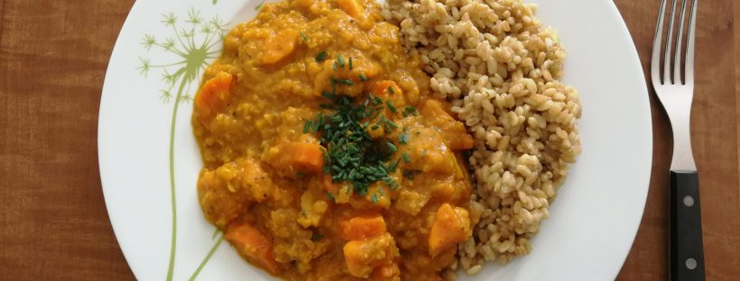 Rezept Linsen Curry